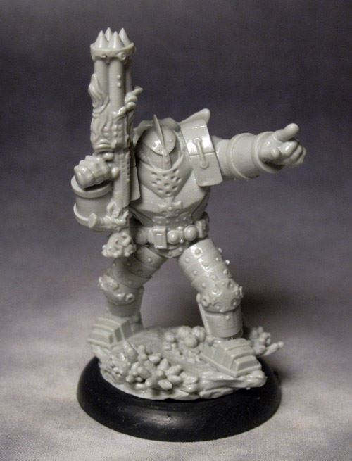 The Fortune Hunter Leader - DeepWars Miniatures Game