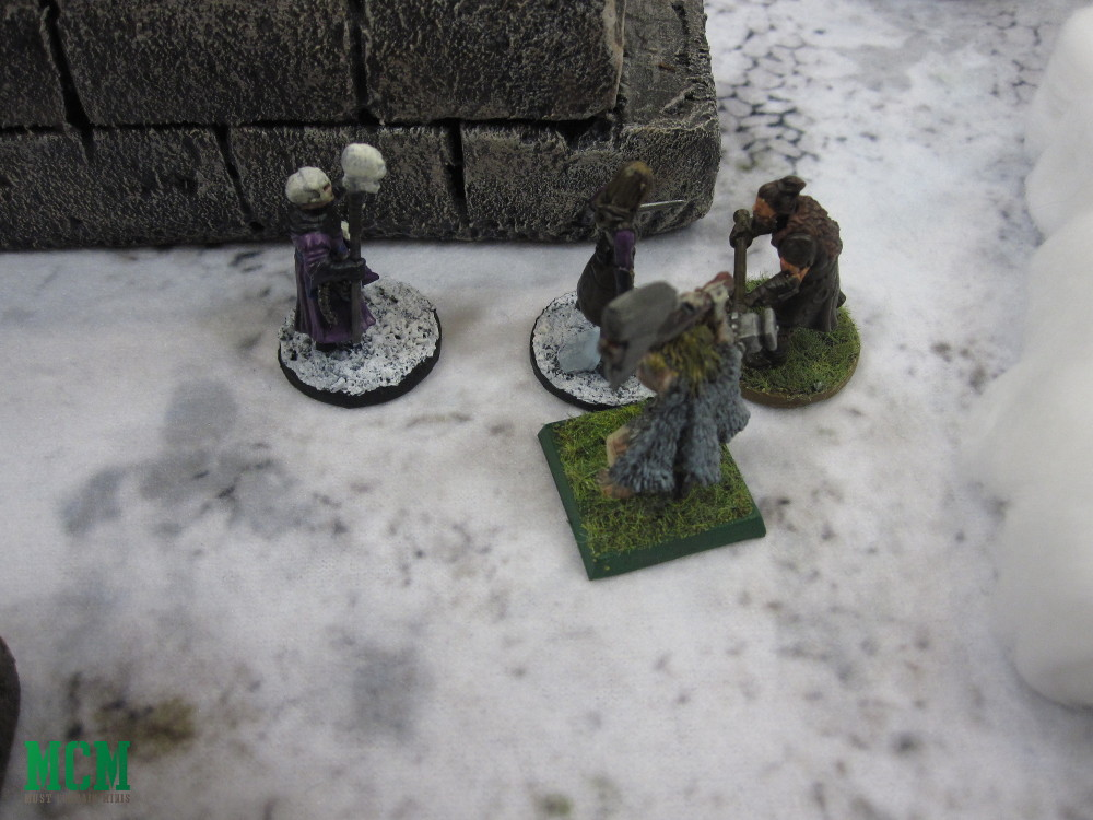 Frostgrave at Hotlead 2019 - Witch vs Illusionist