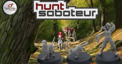 Hunt Saboteur Kickstarter