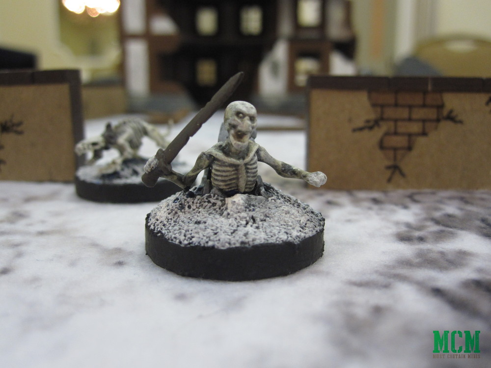 Skeleton Miniature by Mantic Games