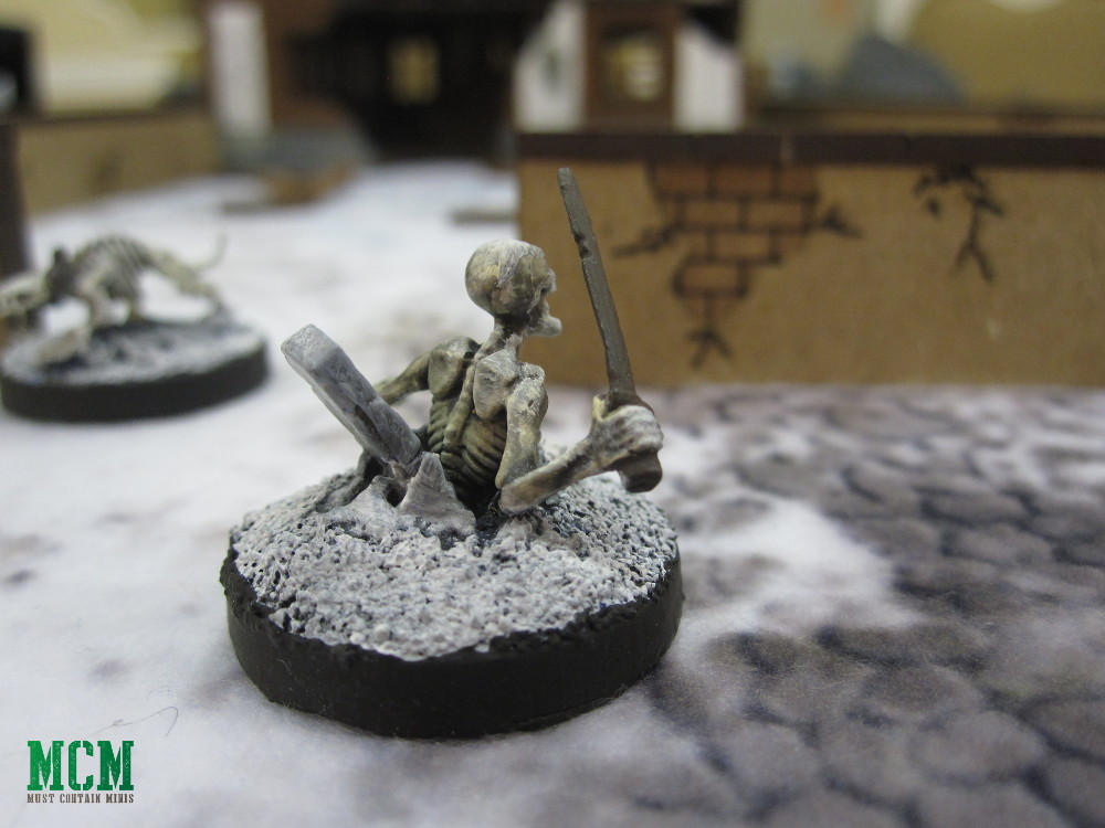 Skeleton Miniature 28mm painted