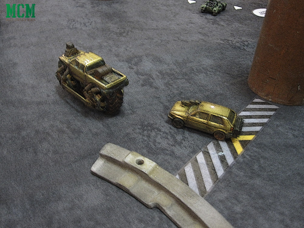 Playing Gaslands - Battle Report and Review
