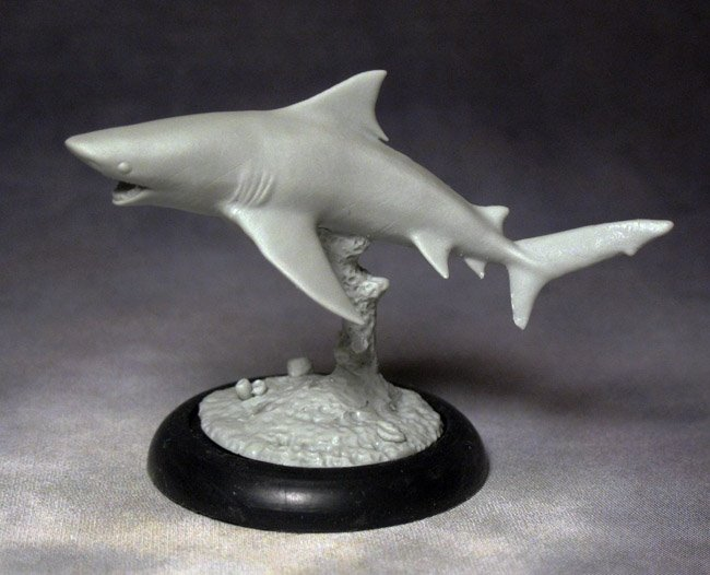 Shark Miniature 32mm