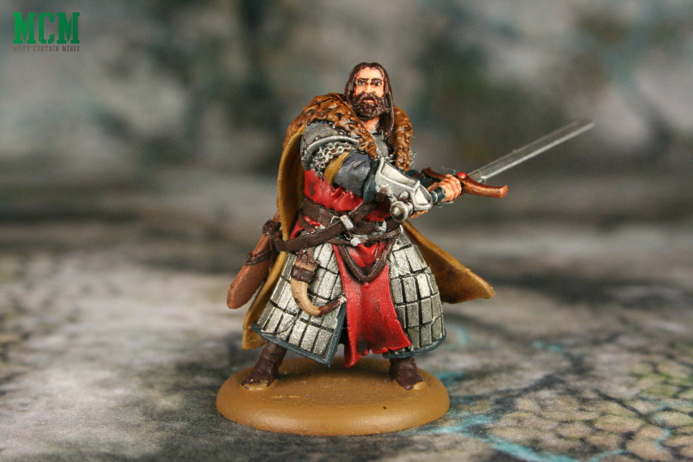 Painted Greatjon Umber Miniature for A Song of Ice and Fire - Game of Thrones Miniatures Game