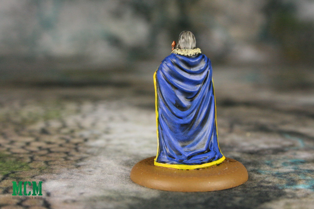 Painted Ser Rodrik Cassel Miniature