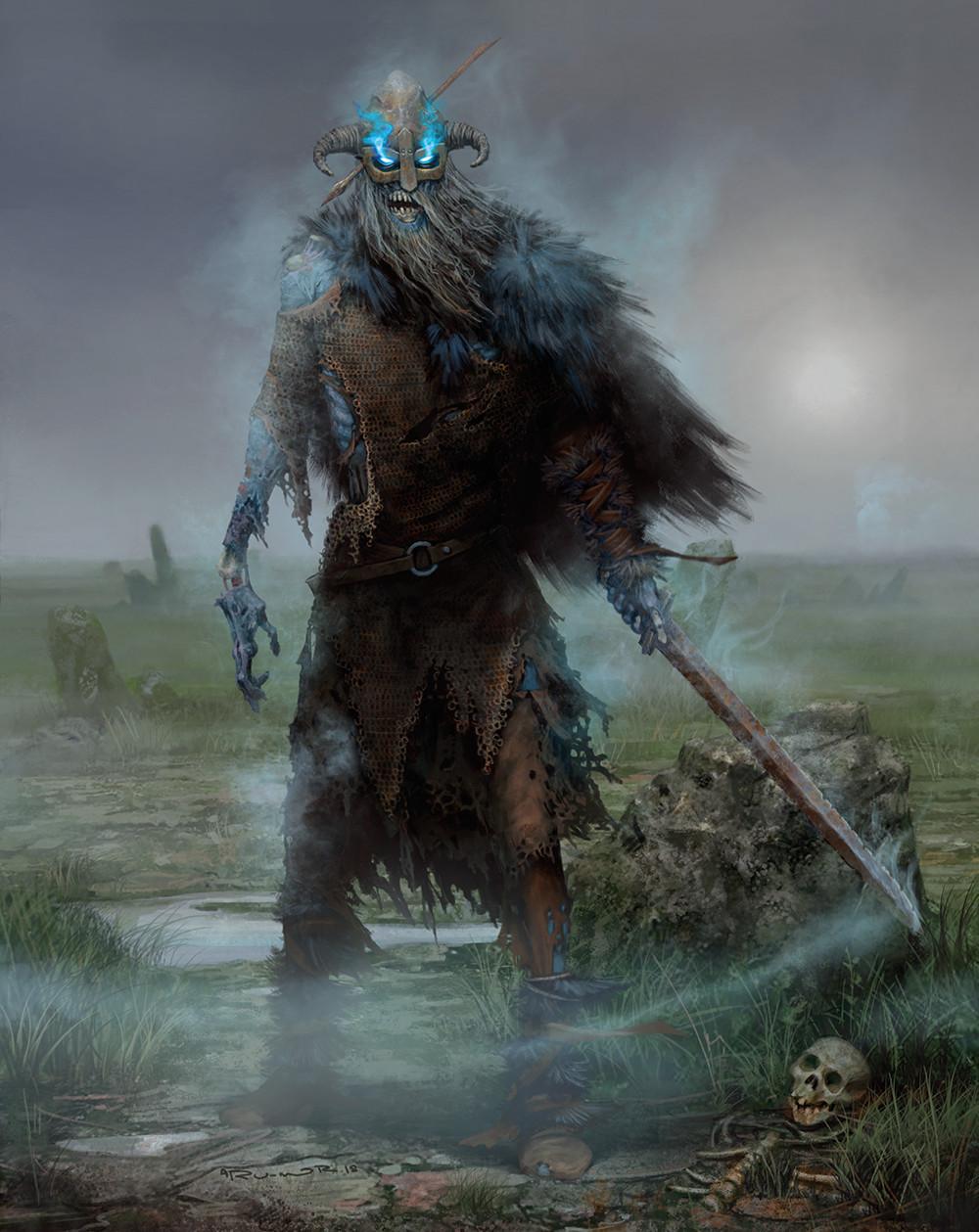 Draugr from Ragnarok