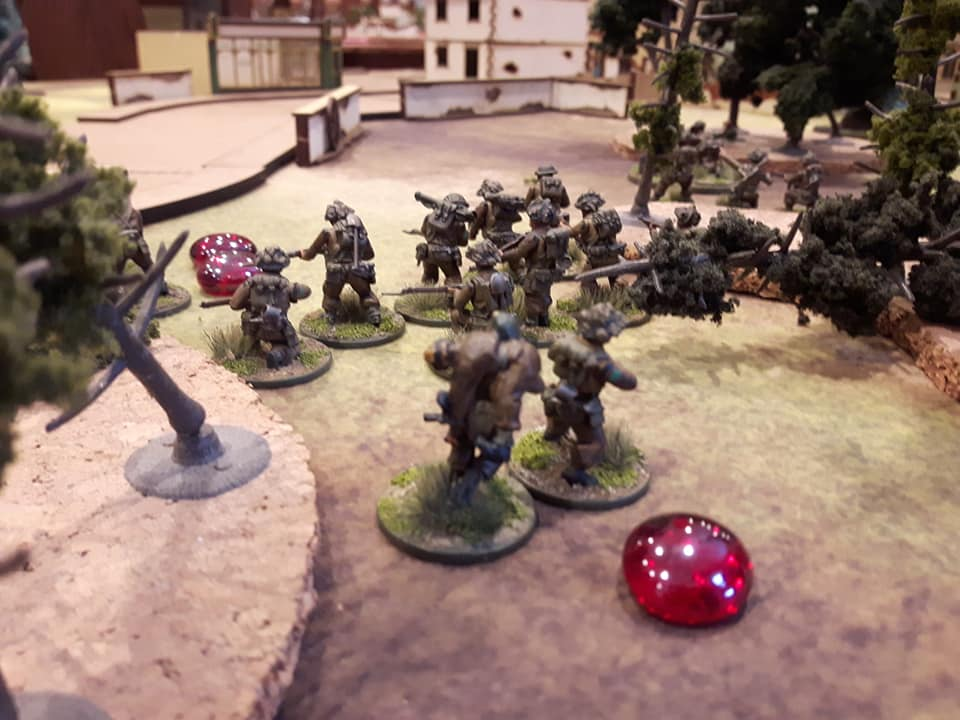 British Troops Advance in Bolt Action - INCOMING 2019