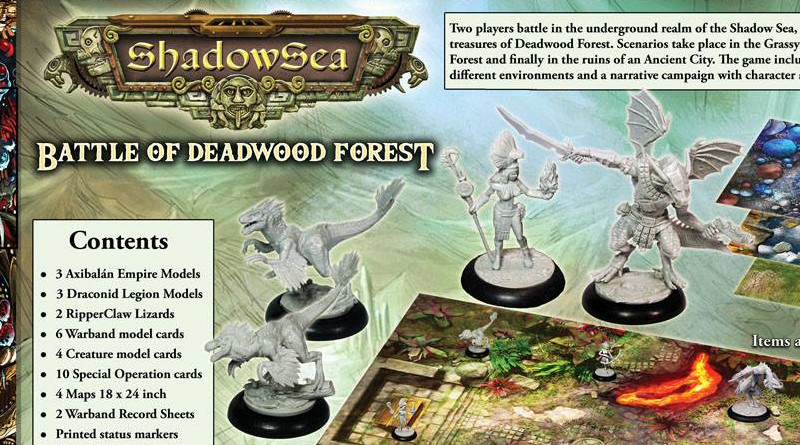 Battle for Deepwood Forest Preview - ShadowSea