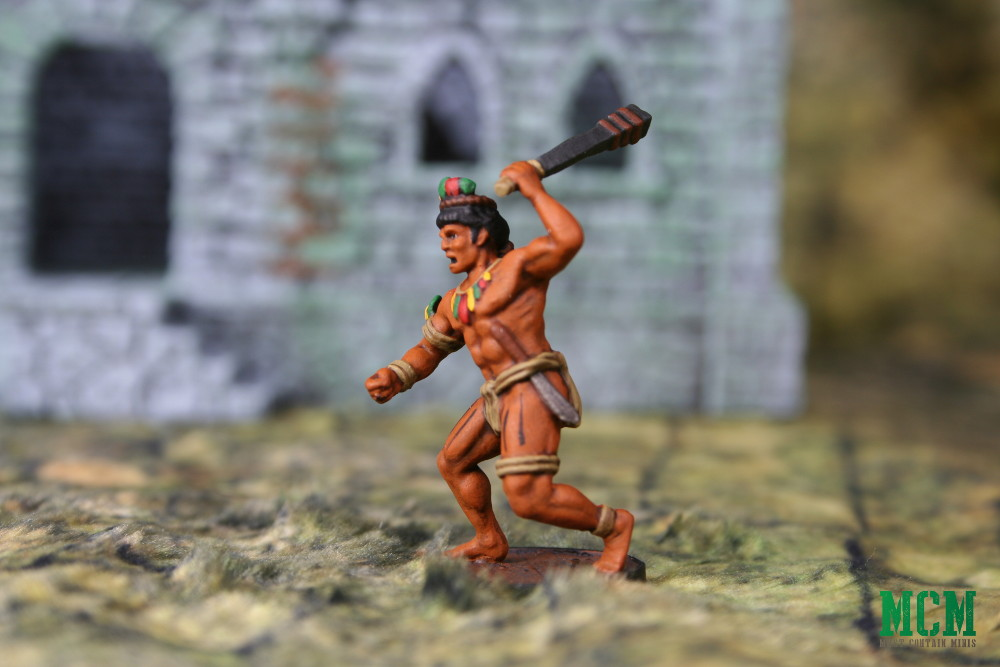 Blood & Plunder Native Warrior painted miniature