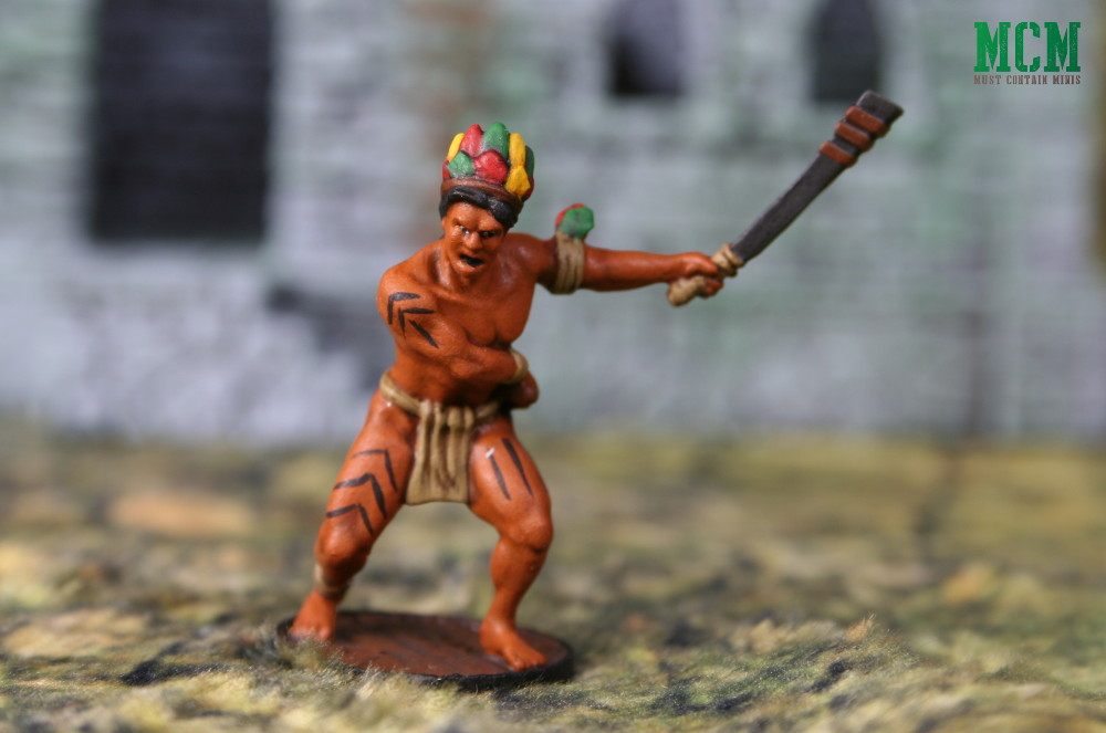 Blood & Plunder Native Warriors Painted Miniatures