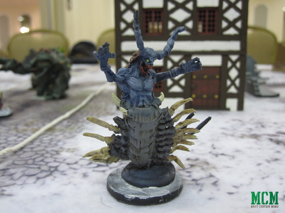 Frostgrave Chilopendra and Centipede Demon Miniatures Showcase Painted