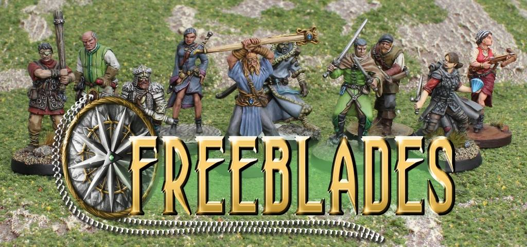 DGS Games Freeblades Miniatures