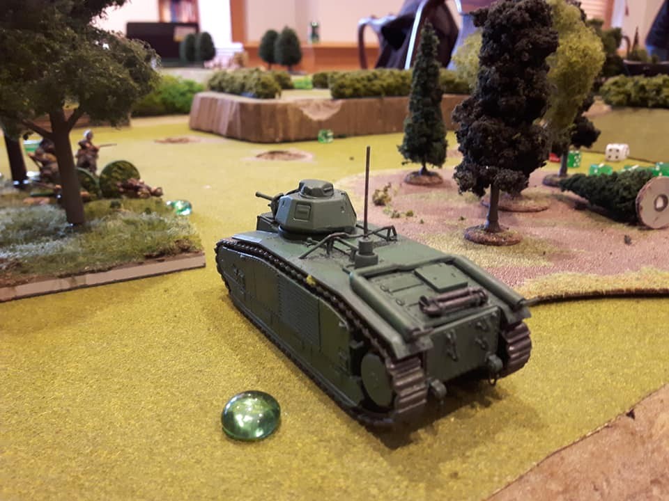 Super Heavy French Tank in Bolt Action