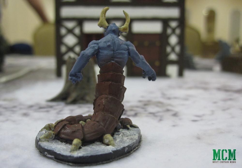 Frostgrave 28mm Demon Miniature - Painted
