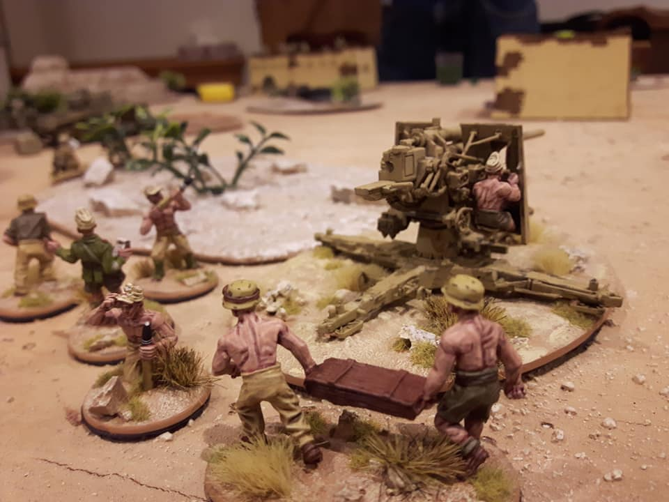 German 88 Gun at INCOMING 2019 Bolt Action Tournament - INCOMING 2019