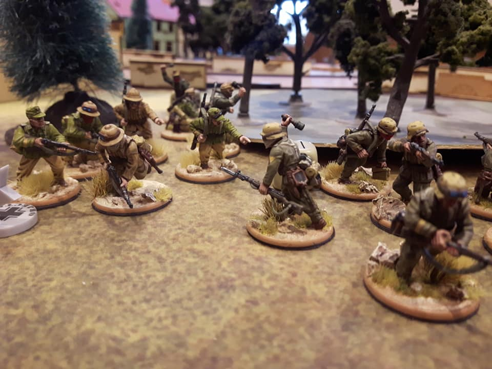 Painted Desert soldiers for Bolt Action - INCOMING 2019