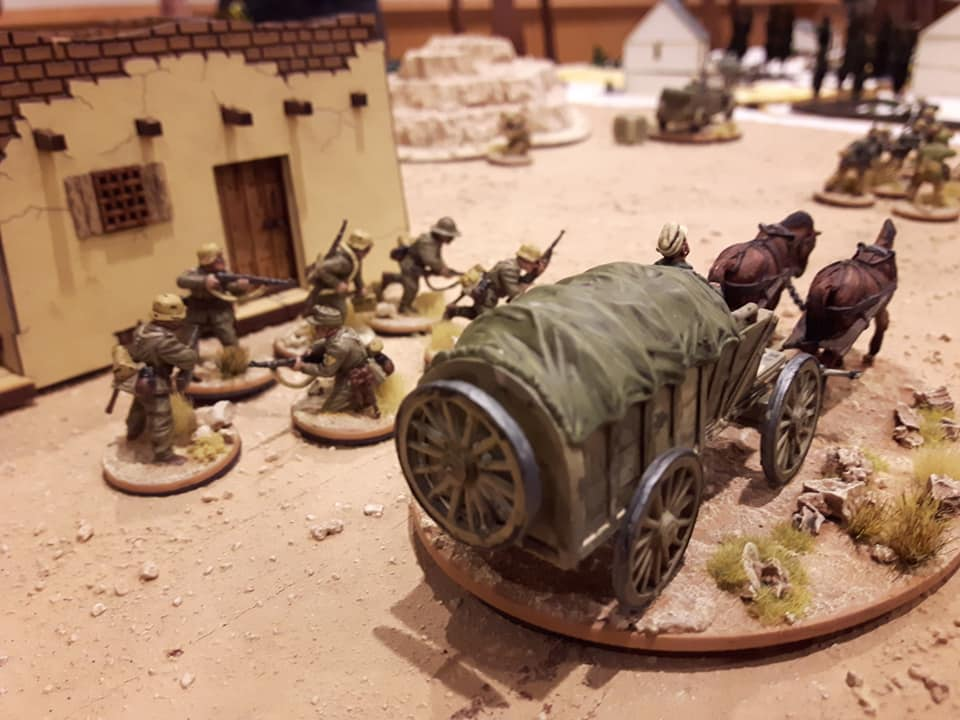 Bolt Action Horse and Wagon Transport - INCOMING 2019