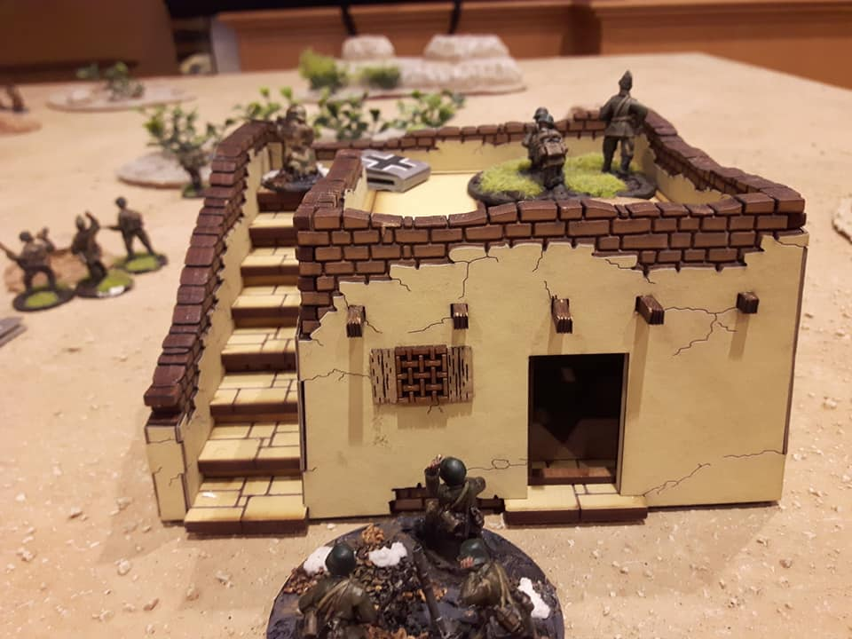 Desert Terrain for Bolt Action - 28mm - INCOMING 2019