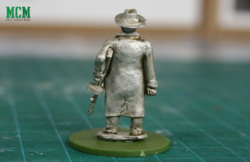 Back of the Gangster - 28mm Pulp Figures