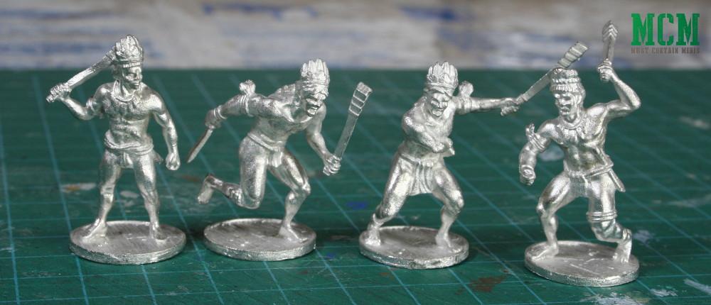 Blood & Plunder Native Warrior Miniatures
