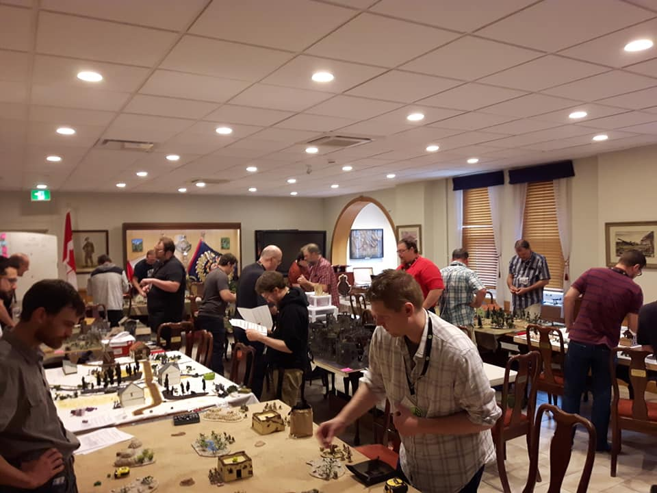 Tournament Turn Out for Bolt Action in Ontario - INCOMING 2019