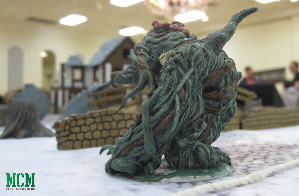 Dungeons and Dragons 28mm monster miniatures - Shambling Mound Miniature