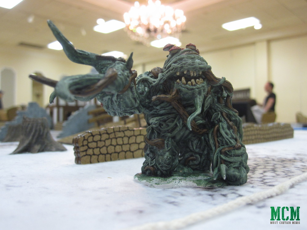 Dungeons and Dragons Shambling Mound Miniature 28mm