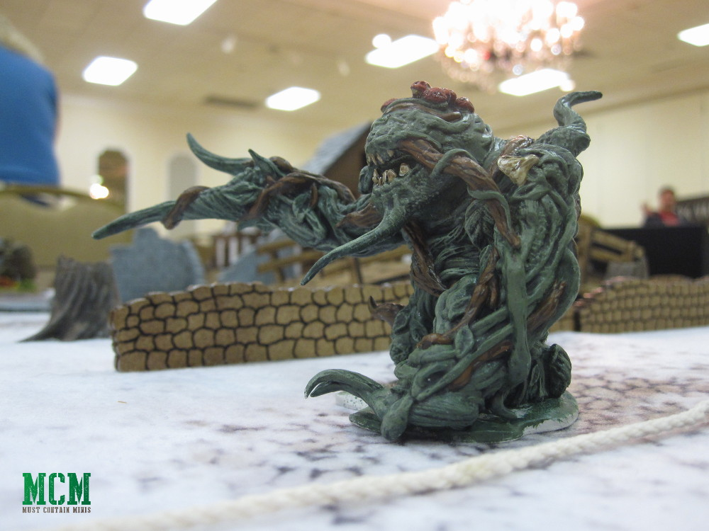 Shambling Mound Miniature 28mm - Frostgrave Snow Troll Alternative
