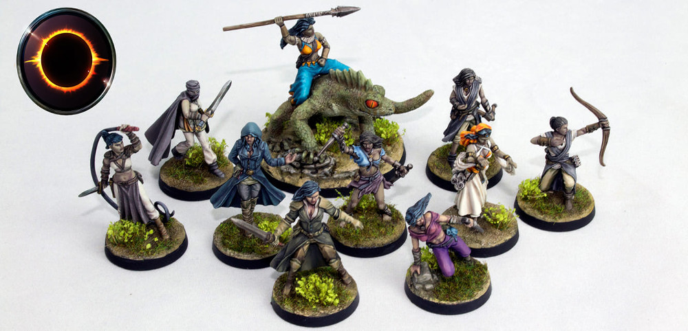 Female miniatures