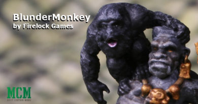 Firelock Games' BlunderMonkey painted model showcase