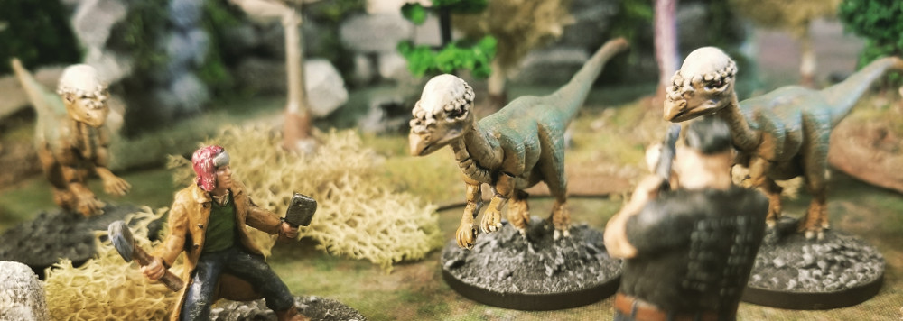 28mm Dinosaur Tabletop Skirmish Game