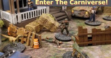 The Carniverse Kickstarter Campaign