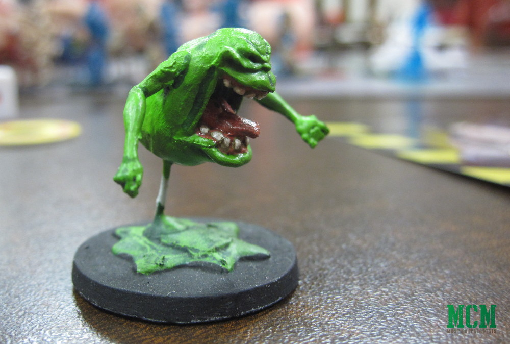 Slimer from the Ghostbusters Board Game