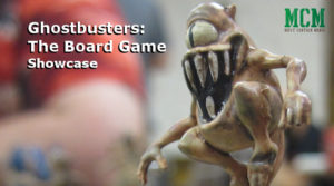 Miniatures of the Ghostbusters Board Game