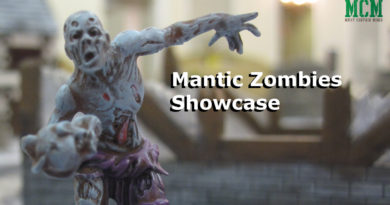 Mantic Zombies Painted Miniature Showcase