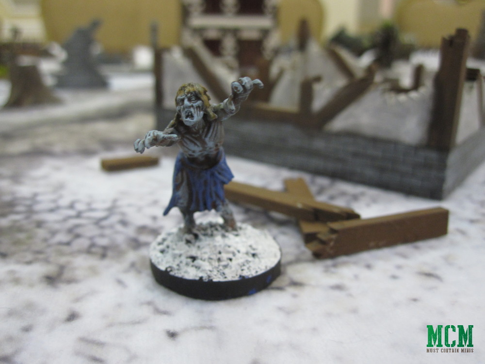 Mantic Minaiture Zombie 28mm GW Alternative.
