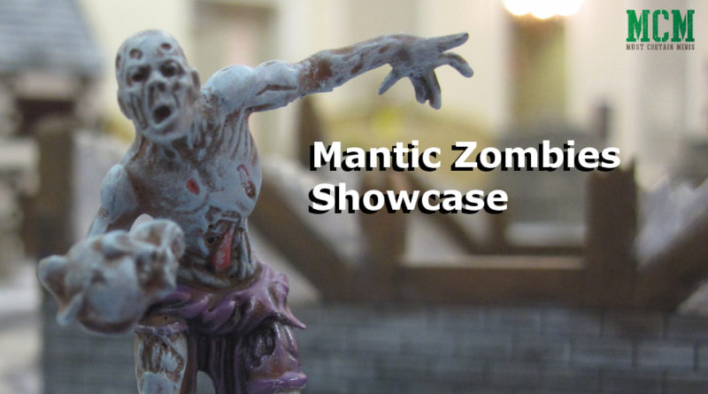 Mantic Zombies Painted Miniature Showcase