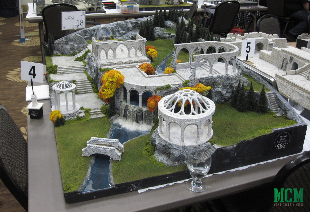Coolest hobbit gaming tables - Wargame