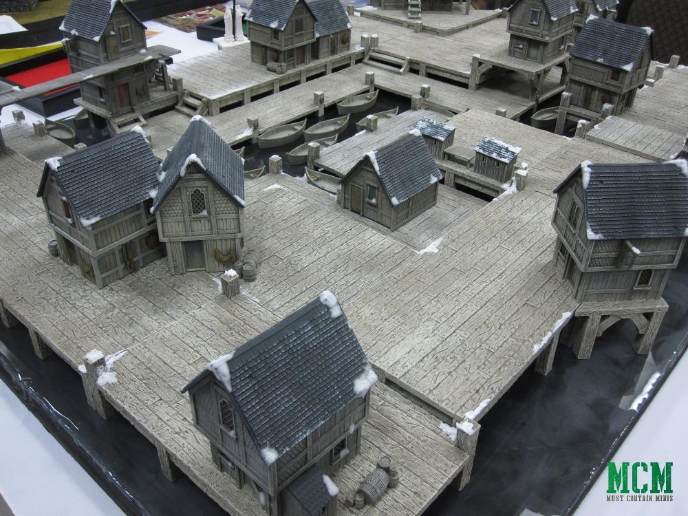 Amazing Miniature Wargame village - Fantasy setting