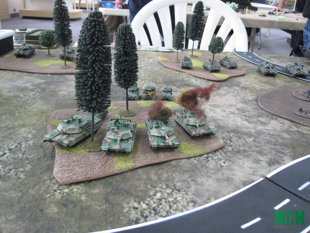 Flames of War Cold War Battle Report and First Impressions