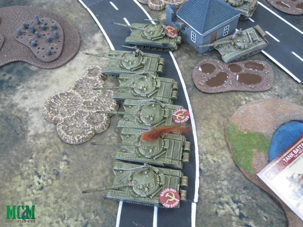Soviet Tanks in Team Yankee