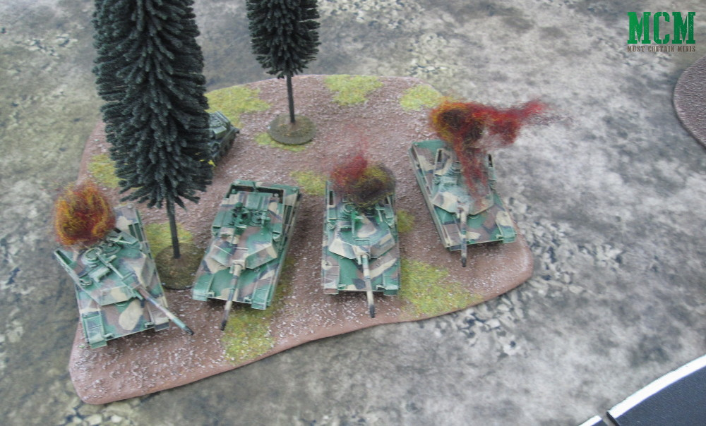 Abrams Down - 15mm Miniature
