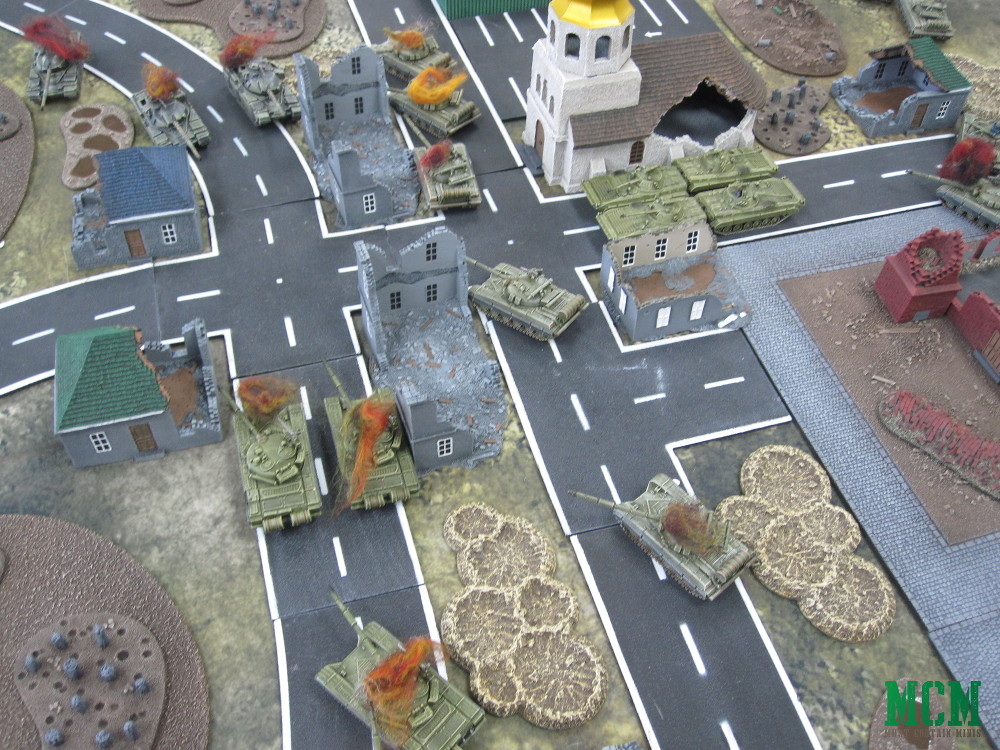 Team Yankee Flames of War Battle Report