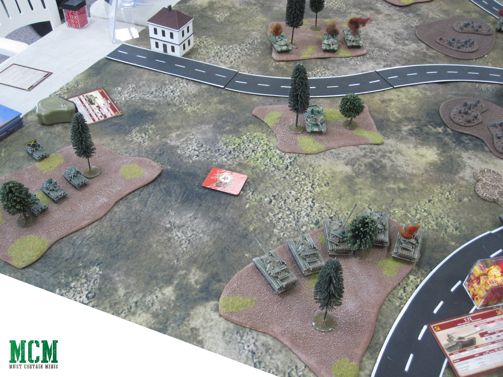 Team Yankee British and American versus Russian Battle Report