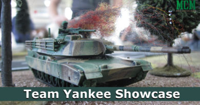Team Yankee Painted Miniatures - A1 Abrams