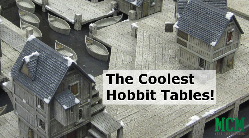 The Coolest Hobbit Gaming Tables out there