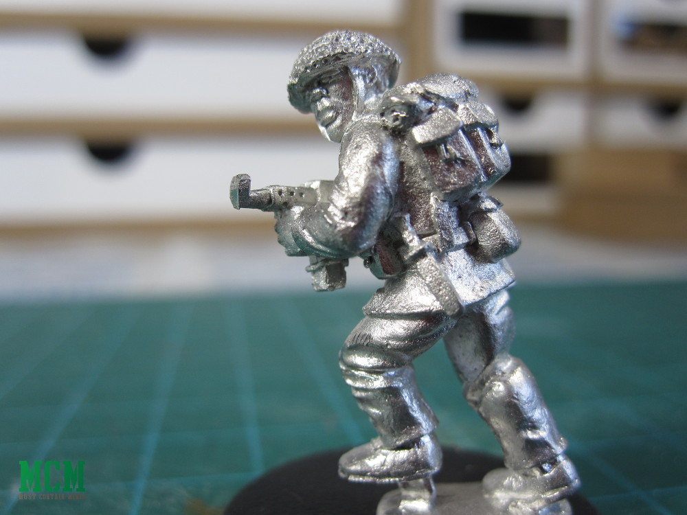 28mm Miniature from the Cthulhu 1968 Kickstarter Campaign
