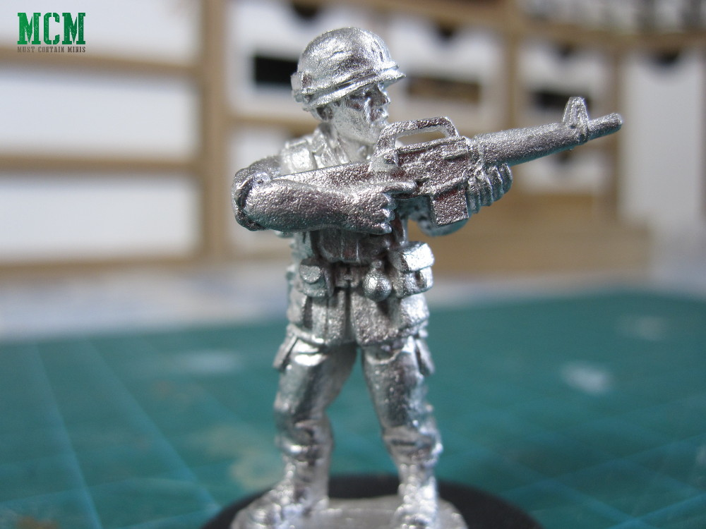US Army 28mm miniatures for the Vietnam War - Unpainted