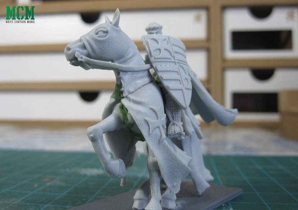 Mounted Templar Grandmaster Miniature