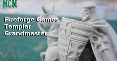 Templar Grandmaster Crusader Review 28mm miniatures